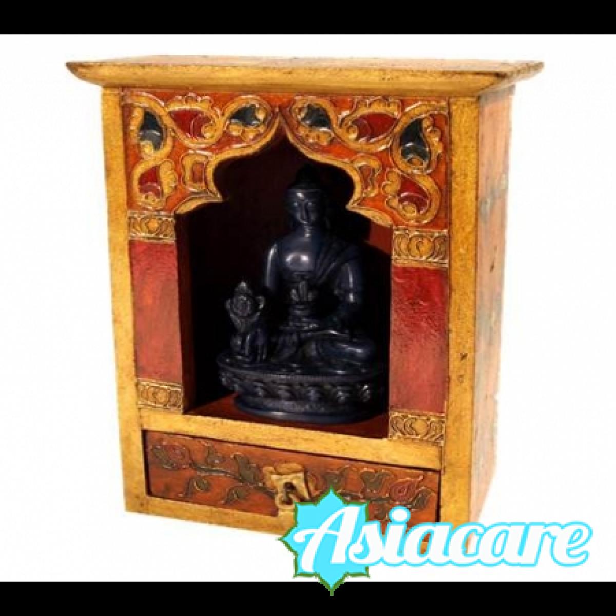 Малък домашен хинду-будистки олтар