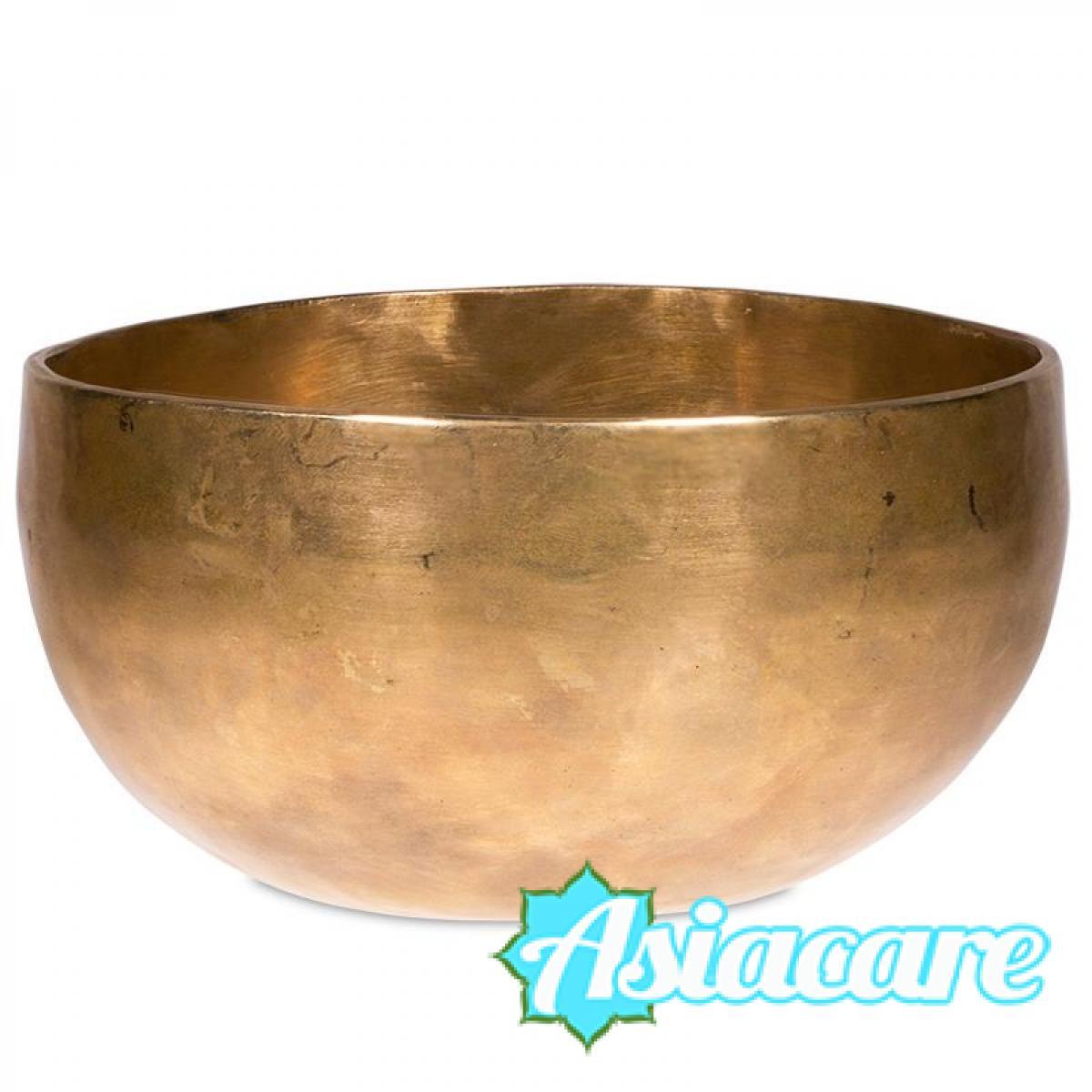 ДЕ ВА Ръчно кована тибетска пееща купа 215 – 250 грама УНИКАТ + дървено чукче