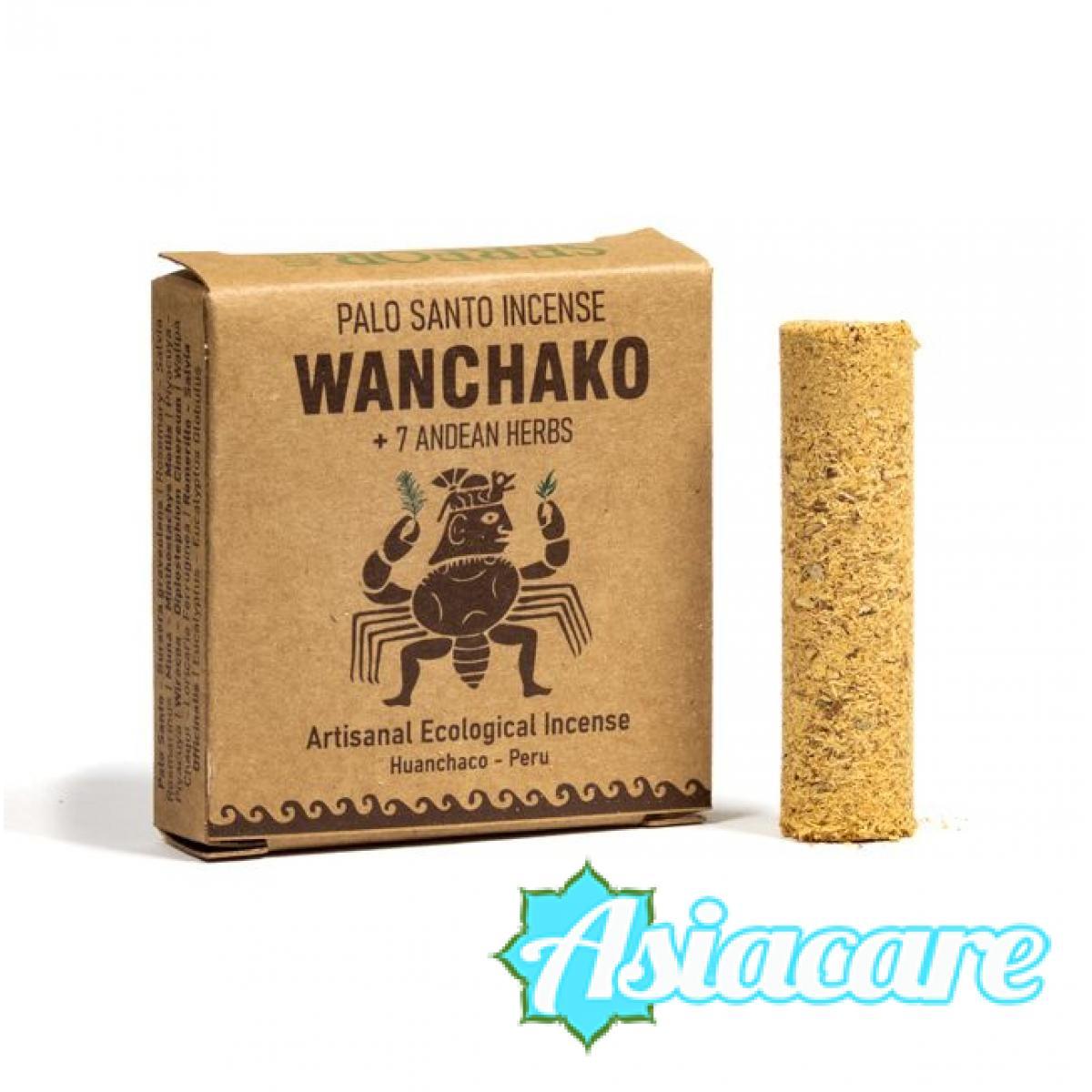 Wanchako цилиндри от пало санто и 7 билки от Андите