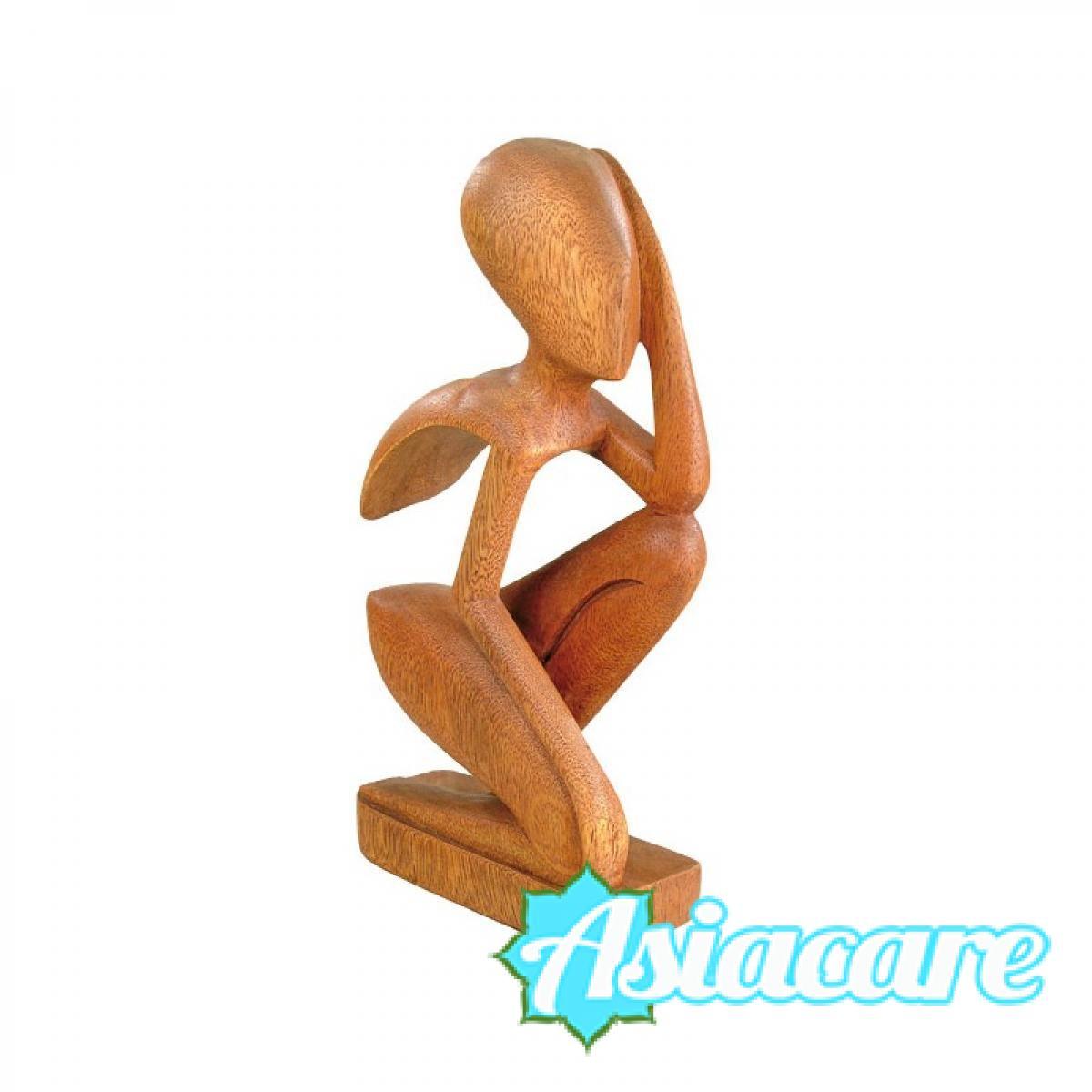 """Дървена статуетка """"Абстракция"""""""