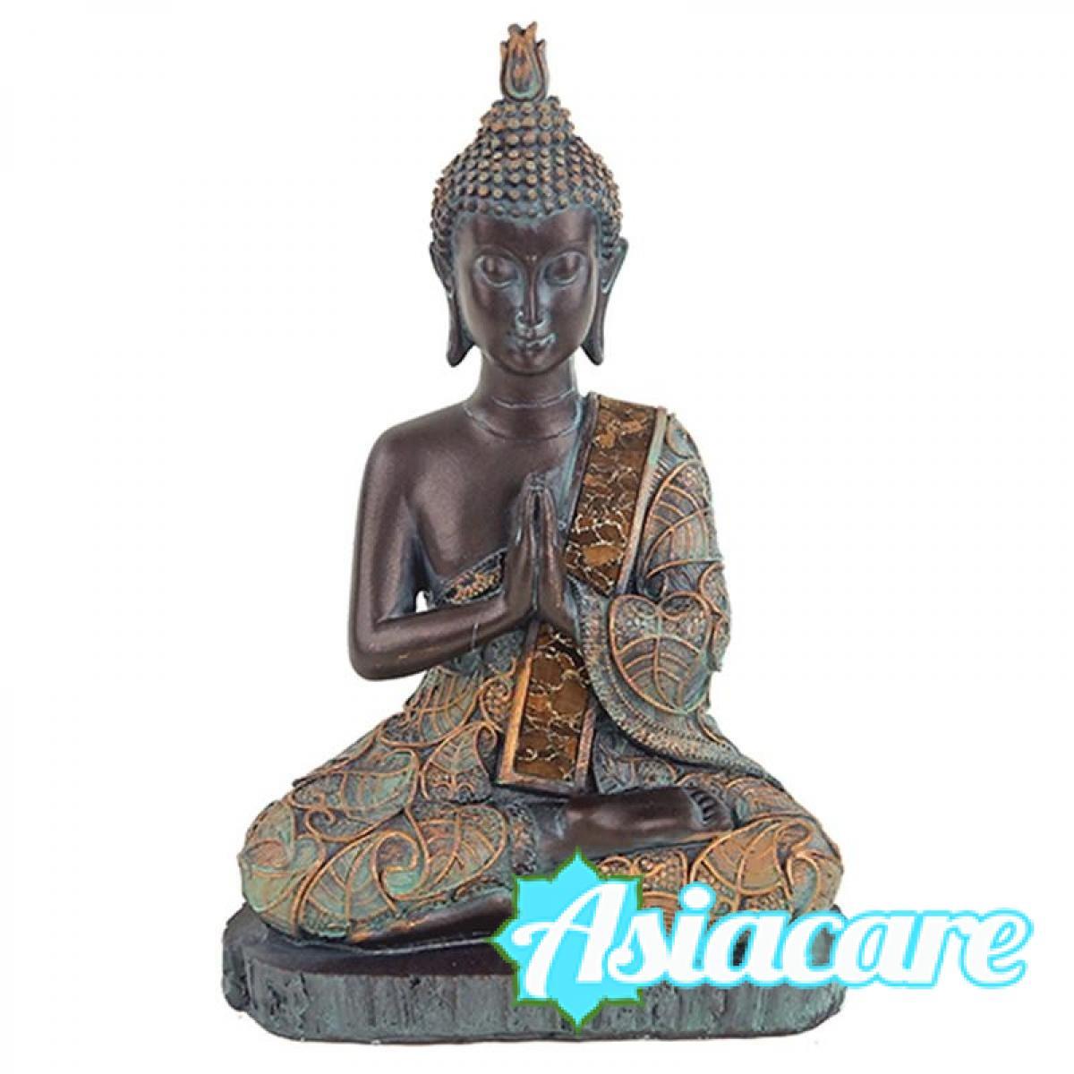 """Статуетка """"Буда в молитва"""" – античен стил"""
