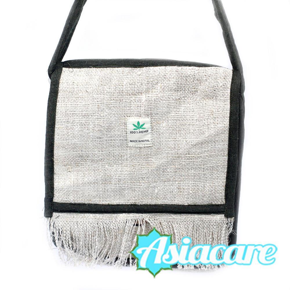 Унисекс чанта за рамо от Непал, 100% коноп